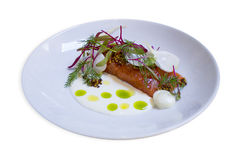 Блюдо красных рыб Стоковые Фото