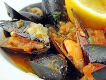 Блюдо мидии стоковое изображение rf