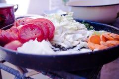 Блюдо овощей Стоковая Фотография RF