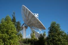 Блюдо спутниковой связи Стоковая Фотография