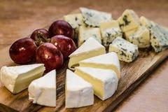 Блюдо сыров стоковое фото