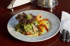Блюдо с креветкой Стоковое Изображение RF