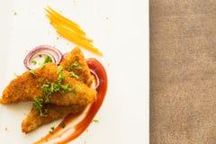 Блюдо филе рыб Стоковые Фото