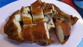 Блюдо цыпленка гриля тип тайский Стоковое Изображение RF