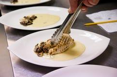 Блюдо цыпленка Стоковые Фотографии RF