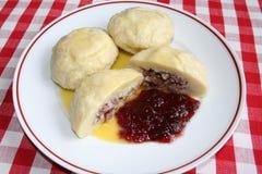Блюдо шведского языка Kroppkakor Стоковое Изображение