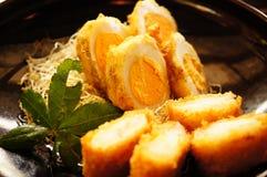 Блюдо яичка Стоковое Фото