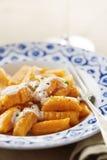 Блюдо gnocchi тыквы Стоковое фото RF