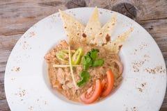 Блюдо masala цыпленка Стоковая Фотография