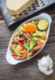 Блюдо Primavera макаронных изделий Стоковое Фото