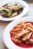 Блюдо Vegan стоковое изображение