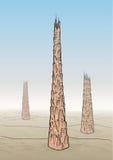 вавилонская башня Стоковое Фото