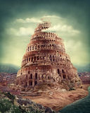 вавилонская башня Стоковая Фотография