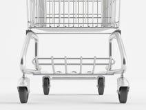 Вагонетка покупкы колеса Стоковая Фотография