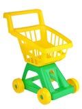 Вагонетка покупок игрушки Стоковые Изображения RF