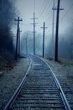 вагонетка следа Стоковая Фотография RF