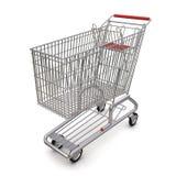 вагонетка супермаркета Стоковое Изображение