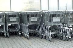 вагонетки Стоковая Фотография