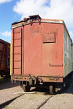вагон закрытого типа старый стоковое фото rf