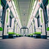 Вагон метро Стоковое Изображение