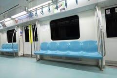 Вагон метро Стоковая Фотография