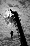 Вагон с краном Стоковые Фото
