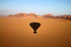 вади взгляда рома пустыни Стоковая Фотография