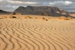 вади рома Иордана пустыни Азии Стоковые Фото