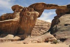 вади рома пустыни свода Стоковое фото RF