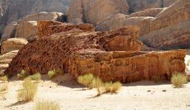 вади рома пустыни Стоковые Изображения RF