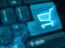 важный ключ shoping стоковые изображения rf