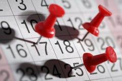 Важная дата Стоковое фото RF