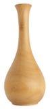 ваза деревянная Стоковые Фотографии RF