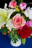 ваза искусственних цветков Стоковое Изображение