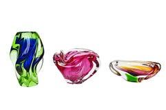 ваза кристалла ashtrays Стоковые Изображения RF