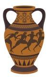 Греческая ваза иллюстрация штока