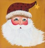 Ваза Санта Клауса Стоковые Изображения