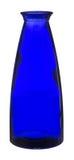 ваза синего стекла Стоковые Фото
