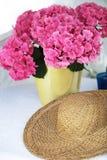 ваза сирени hydrangea Стоковые Изображения