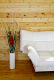 ваза софы пола Стоковое Изображение RF