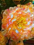 Ваза цветка в Wat Chedi Luang Чиангмае Таиланде стоковая фотография