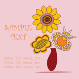 ваза цветков букета бесплатная иллюстрация