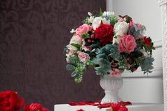 ваза цветков Стоковая Фотография RF