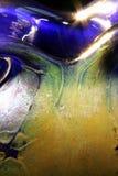 ваза gozo крупного плана стеклянная Стоковое фото RF