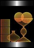 вазы золота Стоковое Изображение RF