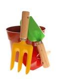 вазы инструментов сада Стоковые Изображения