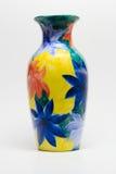 вазы на белизне Стоковые Изображения