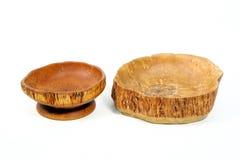 Вазы сделанные из древесины Стоковые Изображения RF