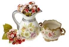 Вазы с цветками Стоковая Фотография