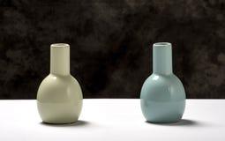 2 вазы Стоковые Изображения